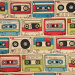 Cassettes Mix Tape